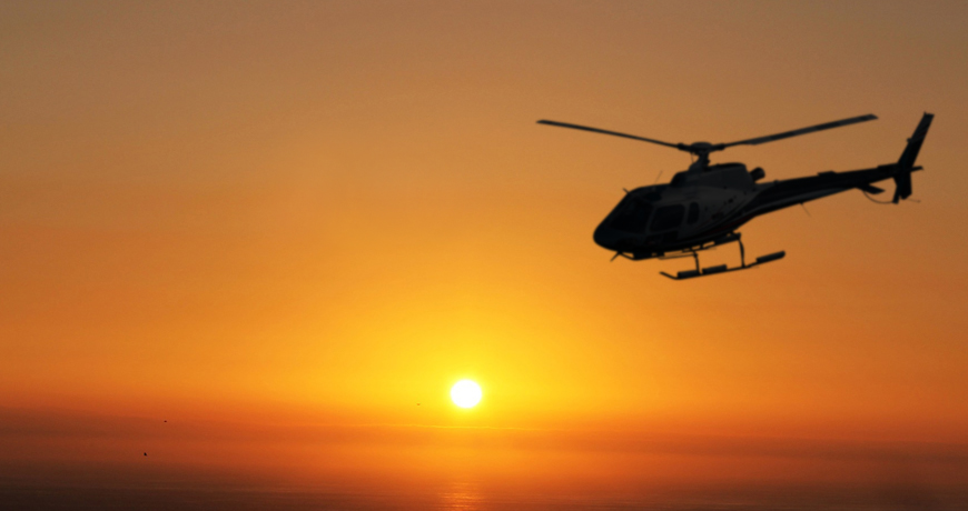 Traverse City Sunset Helicopter Tour
