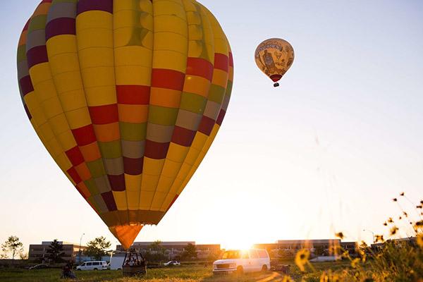 San Diego Shared Sunset Balloon Flight