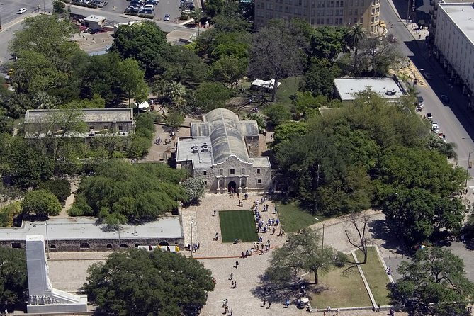 Alamo and San Antonio Quarry Helicopter Tour