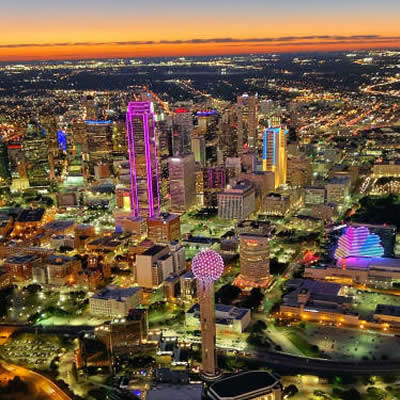 Dallas Skyline Joy Helicopter Flight