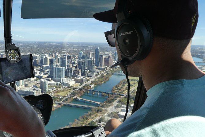 Downtown Austin Helicopter Tour