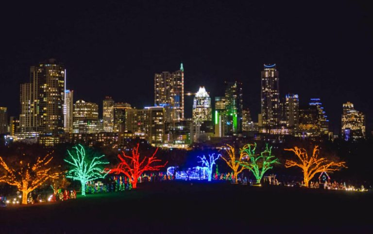 Austin Trail of Lights Helicopter Tour