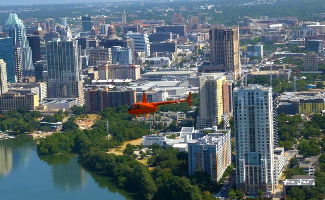 Austin City Limits Helicopter Tour