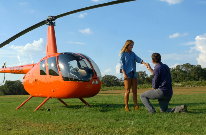 Romantic Sunset Helicopter Tour