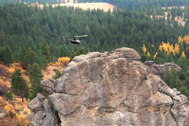Spokane Scenic Helicopter Flight