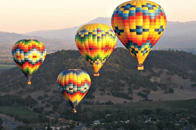 Napa Valley Aloft Hot Air Balloon Ride