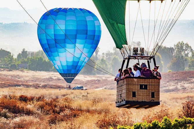 Temecula Private Hot Air Balloon Flight for up to 4 People