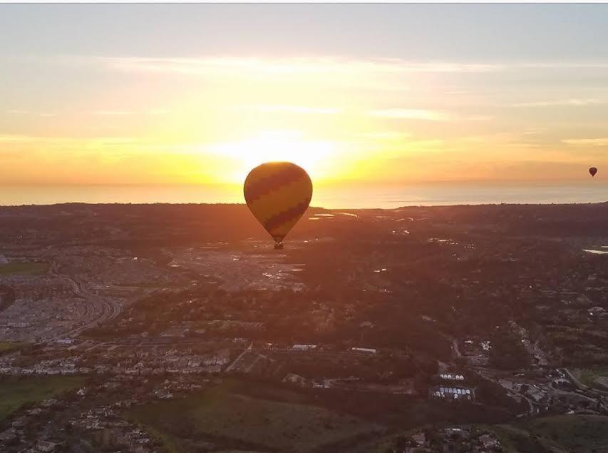 Del Mar Sunset Private Basket Flight