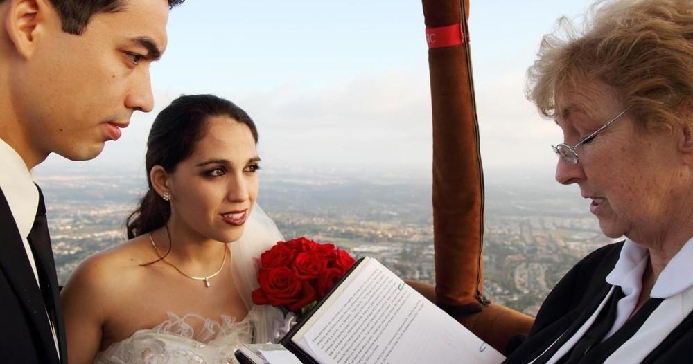 Del Mar Wedding Flight