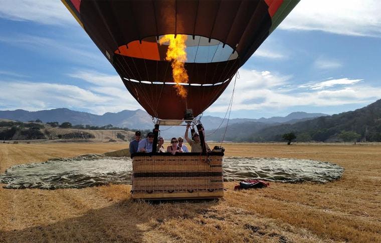 Santa Barbara Private Hot Air Balloon Rides