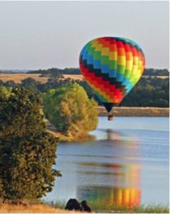 Private Hot Air Balloon Rides in Northern California, Sacramento & Rancho Murieta