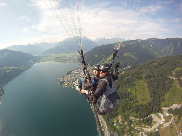 Zell am See Super Panoramic flight for two persons
