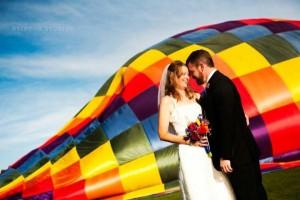 Colorado Balloon Wedding