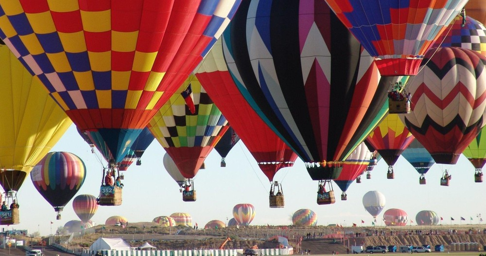 Shared Balloon Ride for Six People