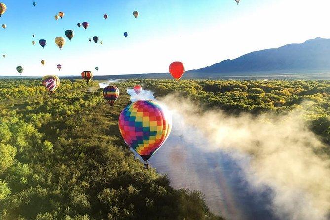 Shared Sunrise Hot Air Balloon Ride in Albuquerque
