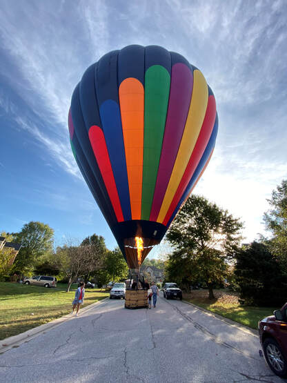 ​Hot Air Balloon Rides in Frederick