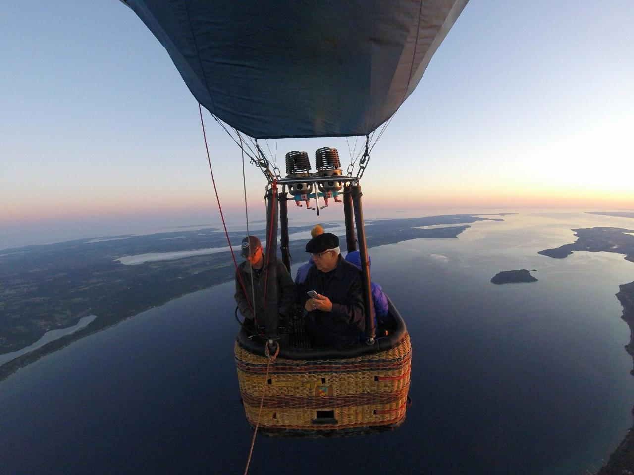 Weekday Private Flight / Small Balloon in Traverse City