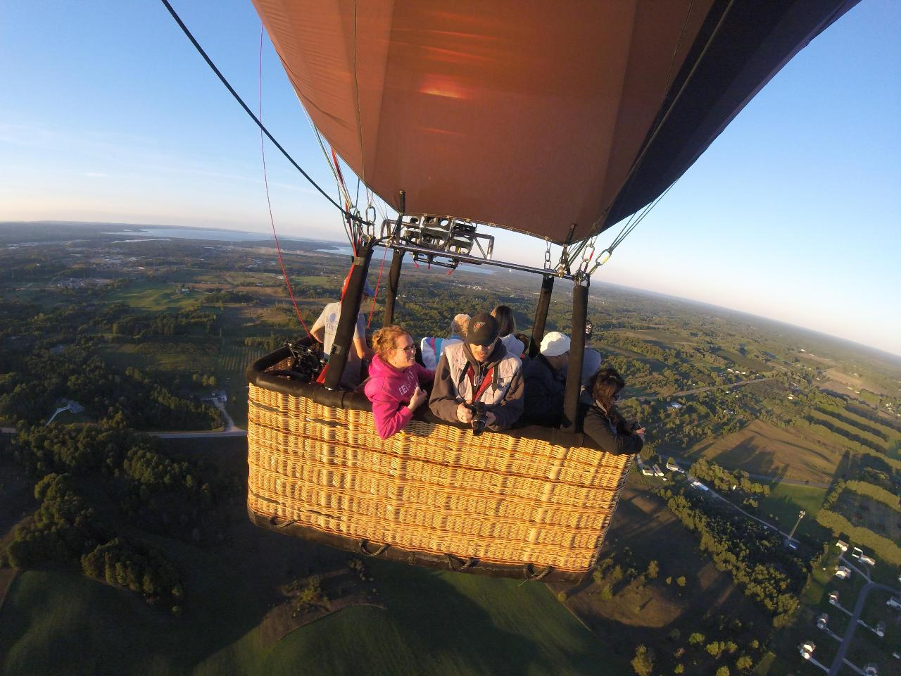 Weekday Private Flight / Large Balloon in Traverse City