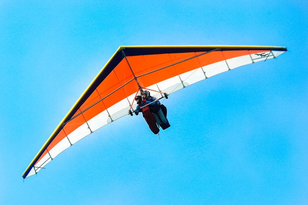 Tandem Hang Gliding Flights in San Francisco
