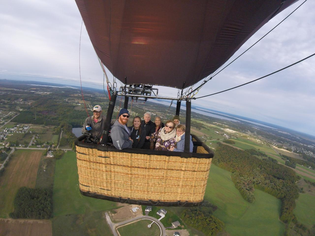 Weekend PM Shared Flight in Traverse City