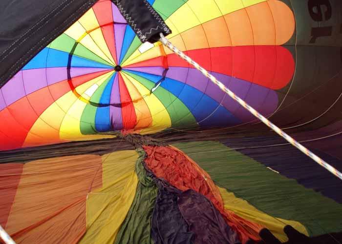 Cincinnati Balloon Tethers