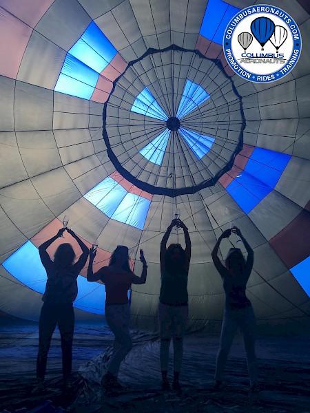 Columbus Hot Air Balloons for Team Building