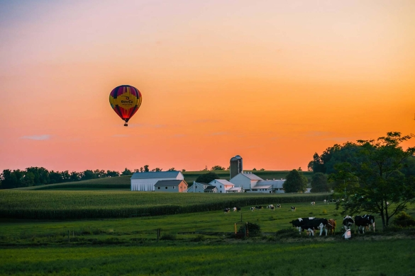 Shared Lancaster County Hot Air Balloon Ride
