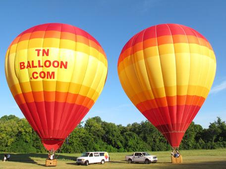 Nashville Hot Air Balloon Shared Adventure