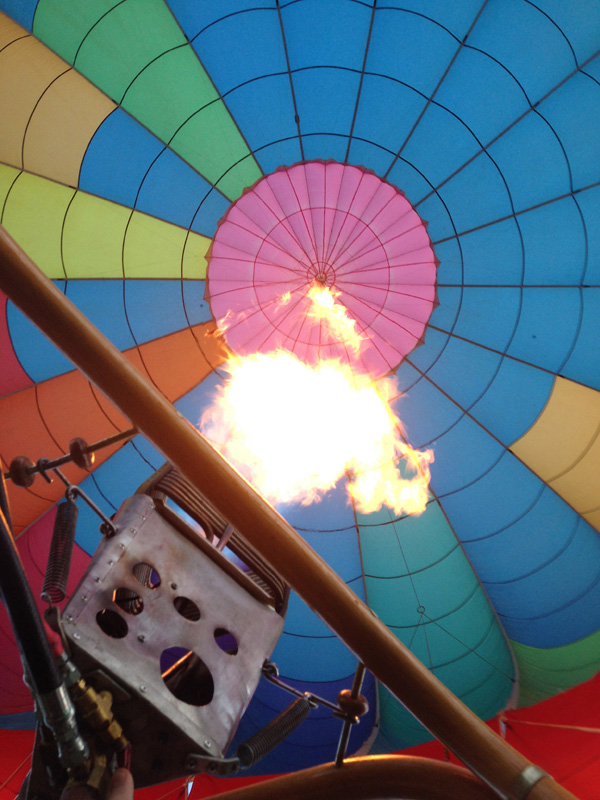 Nashville Hot Air Balloon Tether Flight