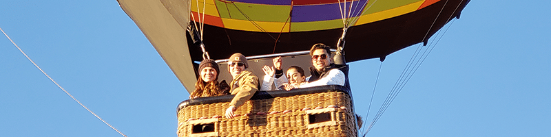 Dallas Shared Hot Air Balloon Flight