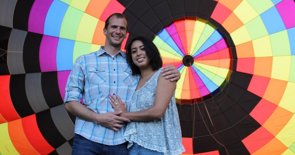 Engagement Hot Air Balloon Flight in Dallas