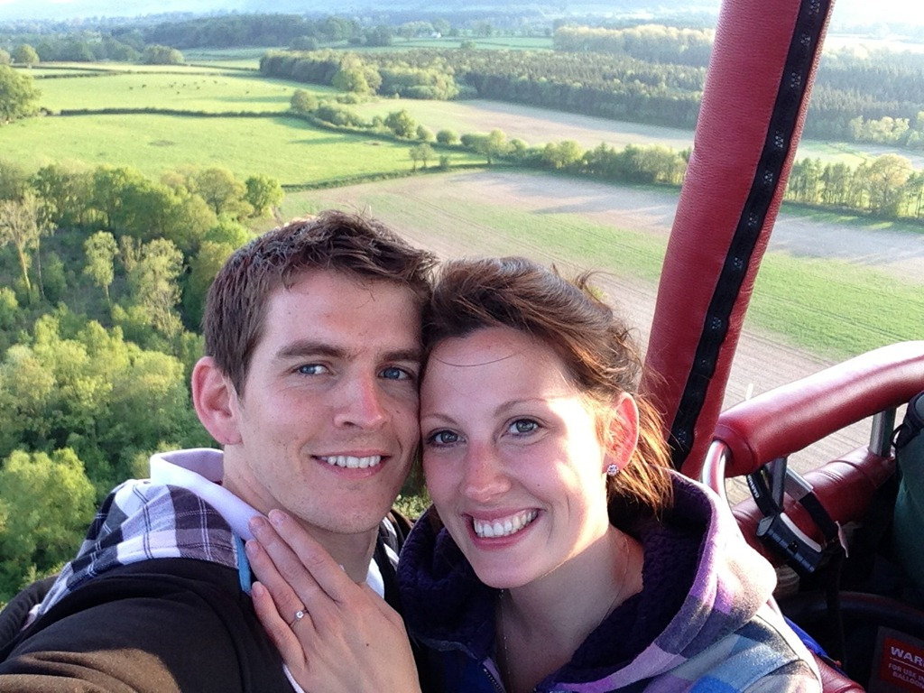 Marriage Proposal Hot Air Balloon Flight Dallas