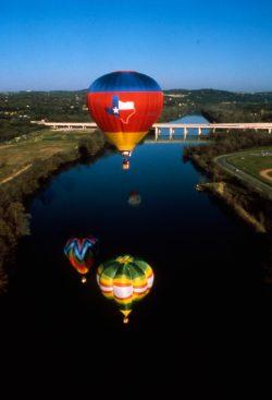 Hot Air Balloon Night Flights in Austin