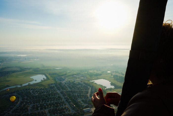 Hot Air Balloon Lake Flights in Austin