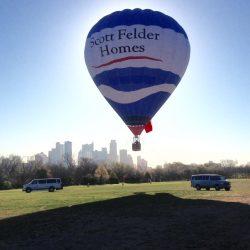 Hot Air Balloon Wedding Flights in Austin
