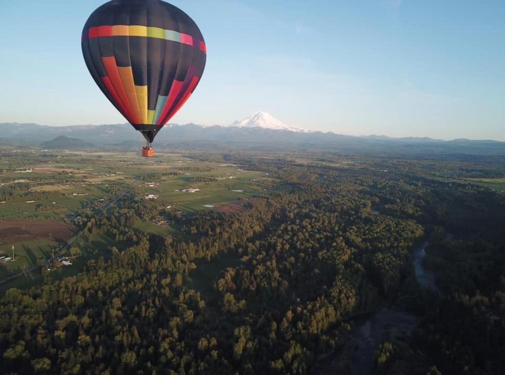 Seattle Hot Air Balloon Shared Flight