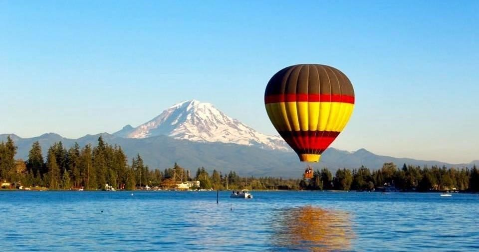 Seattle Hot Air Balloon Private Flight