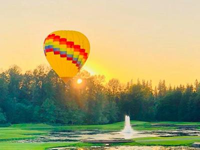 Seattle Hot Air Balloon Sunset Flights