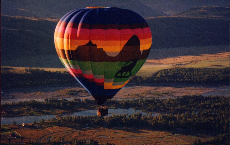 Jackson Hole Group Balloon Ride