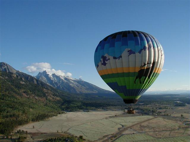 Jackson Hole Private Balloon Ride