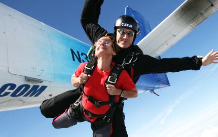 Extreme Birmingham Tandem Skydiving