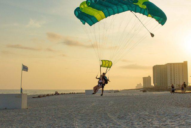 Orange Beach Sunrise Tandem Skydiving