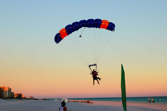 Orange Beach Sunset Tandem Jump