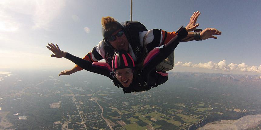 Anchorage Tandem Skydiving