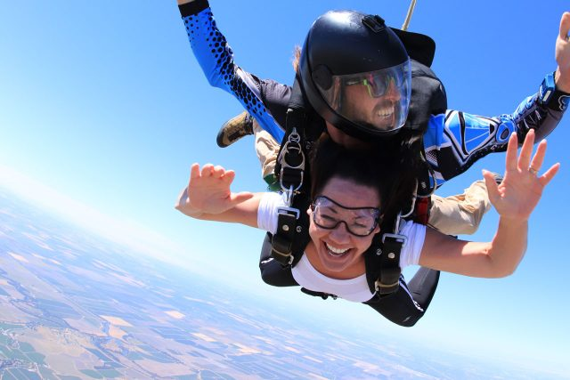 San Francisco Tandem Skydiving Jump