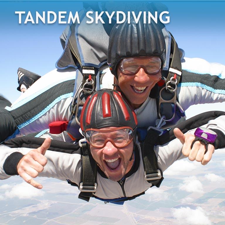 Bakersfield Tandem Skydiving Jump