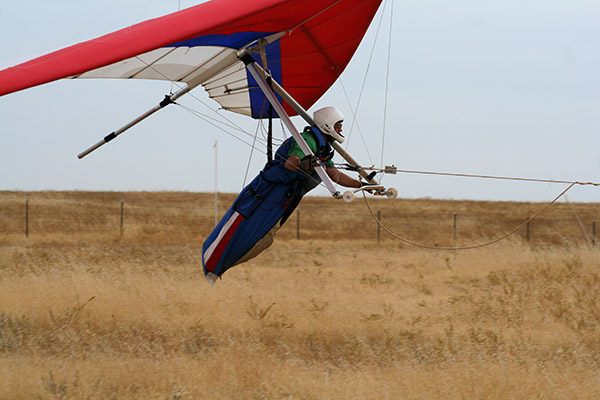 Sacramento Hang Gliding Novice Training