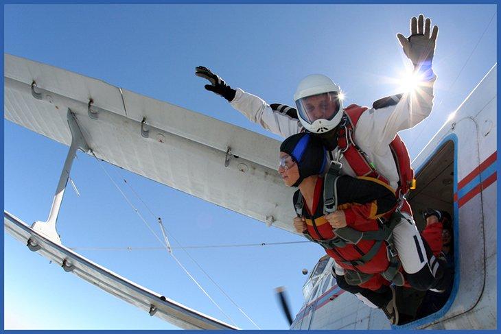 Atlanta Tandem Skydiving Jump