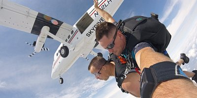 Chicago First Tandem Skydiving