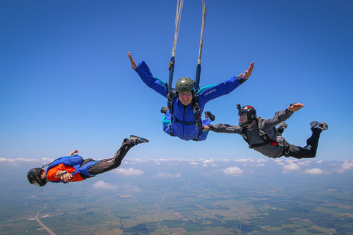 Learn to Skydive Solo in Indianapolis